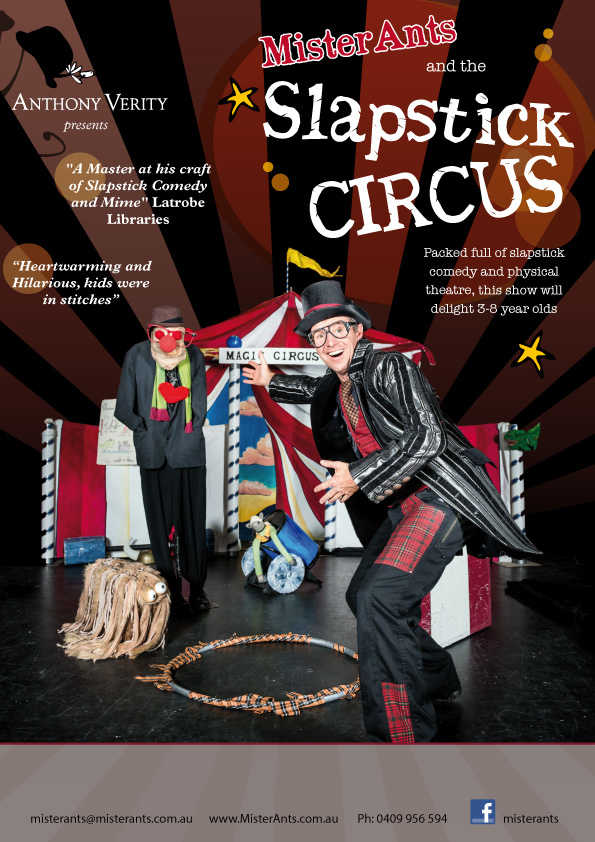 Circus slaprstick clown